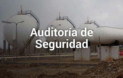 Auditoria de tanques