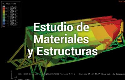 Estudio de Materiales y Estructuras